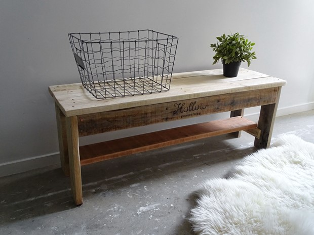Photo of Nordic Inspired Bench Seat