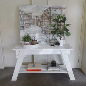 Product photo of Modern Coastal Hall Table