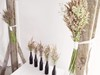 Feather Grass Bouquets as Table and Archway Decor Hollow Furniture
