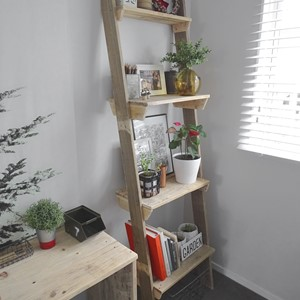 Product photo of Reclaimed Timber Leaning Shelves