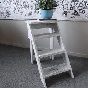 Product photo of Vintage Step Ladder Side Table