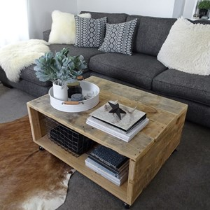 Product photo of Parkview Coffee Table - Natural Timber