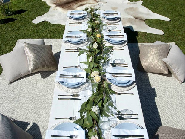 Photo of Low Trestle Tables
