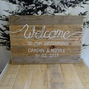 Product photo of Custom Welcome Sign
