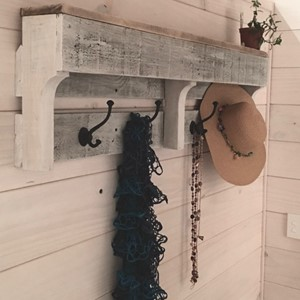 Product photo of Reclaimed Pallet Coat Rack