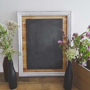 Product photo of Framed Chalk Board Sign