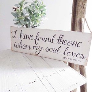 "Product photo of ""I Have Found..."" Sign"