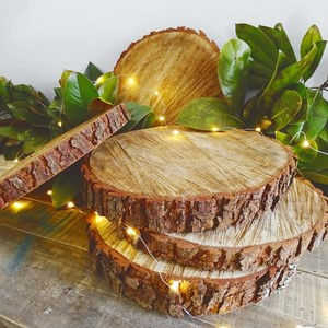 Product photo of Large Rustic Wood Rounds