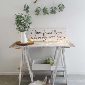 Product photo of Small Trestle Table