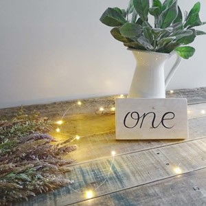 Product photo of Table Numbers - Scripted