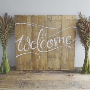 Product photo of Welcome Sign