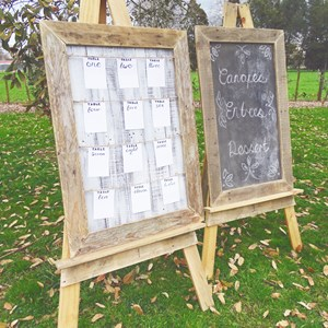 Product photo of Easels, Black Board & Seating Chart Package