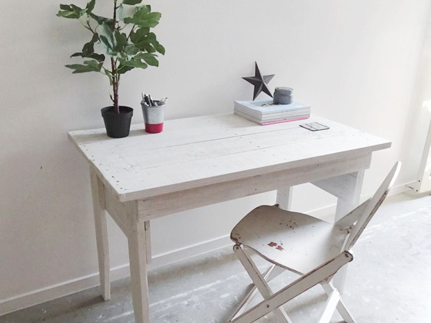 Photo of Shaker Style Work Desk