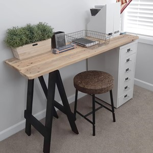 Product photo of Half Trestle Desk