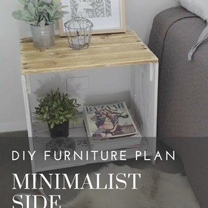 Product photo of Minimalist Side Table