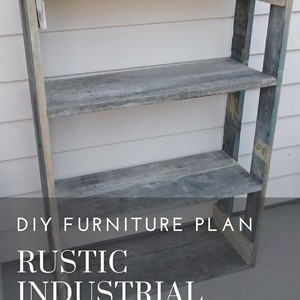 Product photo of Rustic Industrial Pallet Shelves