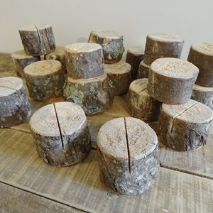 Product photo of Rustic Table Number Holders